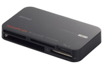 BUFFALOの高速カードリーダー BSCR22TU3BK UHS-I USB3.0対応
