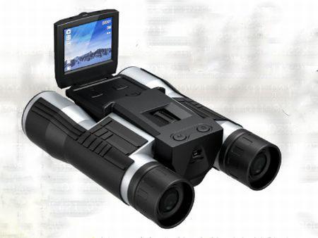 バードウォッチングにおすすめ!じっくり観察しながら撮影できる双眼鏡型カメラ スパイダーズX PRO PR-805