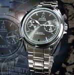 クロノグラフ腕時計型スパイカメラ スパイダーズX W-701