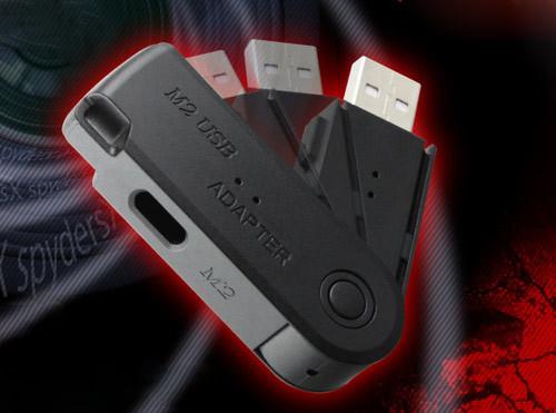 グルグル回る!回転キャップ式 最新USBメモリ型カメラ スパイダーズX A-485の使い方